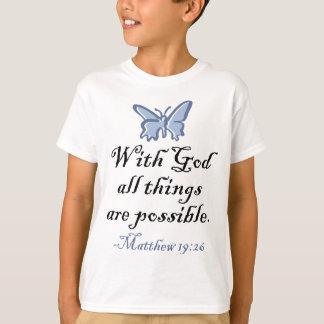 Mit Gott sind alle Sachen möglich T-Shirt