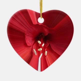 Mit Liebe schenken Keramik Ornament