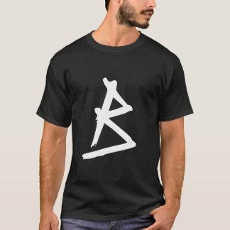 Mit Monogramm Grunge T-Shirt