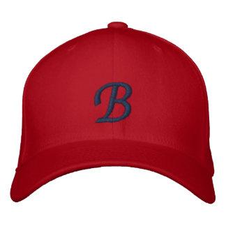 Mit Monogramm justierbare Kappe B Bestickte Mütze