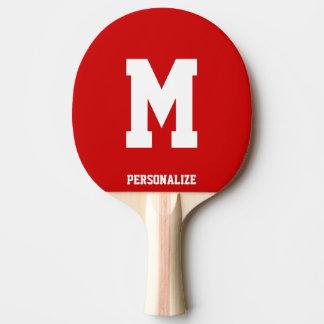 Mit Monogramm Ping pong Paddel für Tischtennis Tischtennis Schläger