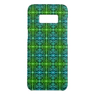 Mit Ziegeln gedeckter überraschter Monster-Muster Case-Mate Samsung Galaxy S8 Hülle