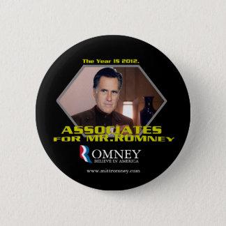 Mitarbeiter für Knopf Herrn Romney Runder Button 5,7 Cm