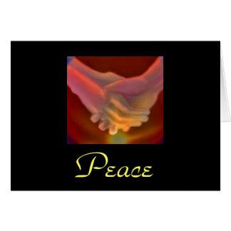 Mitleid, Frieden Grußkarte