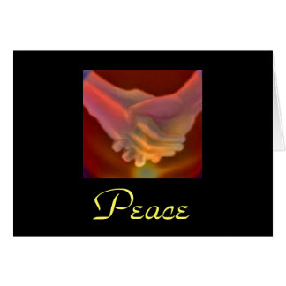 Mitleid, Frieden Grußkarten