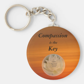 Mitleid ist der Schlüssel - SGI-Buddhist Keychain Schlüsselanhänger