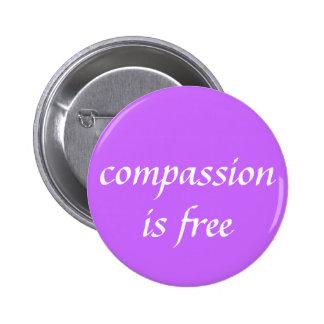 Mitleid ist frei buttons