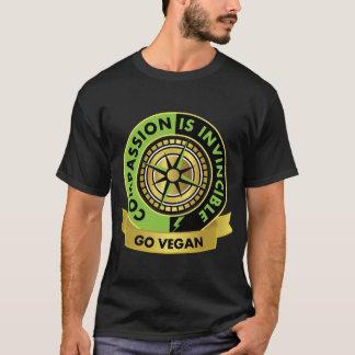 Mitleid ist unbesiegbar! Gehen Vegan. T-Shirt