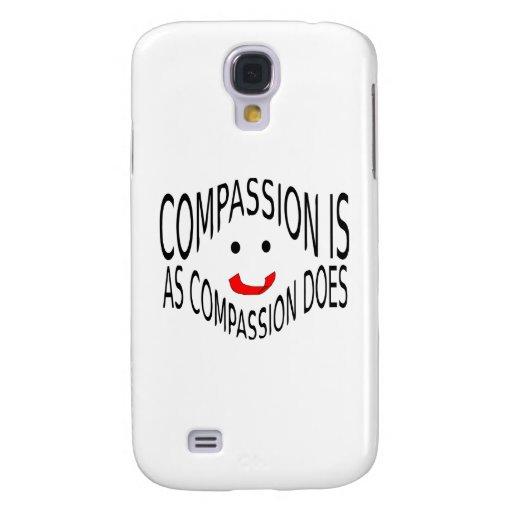 Mitleid ist, wie Mitleid tut Galaxy S4 Hülle
