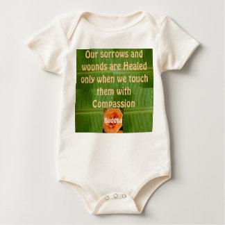 Mitleid-Säugling onsie Strampler