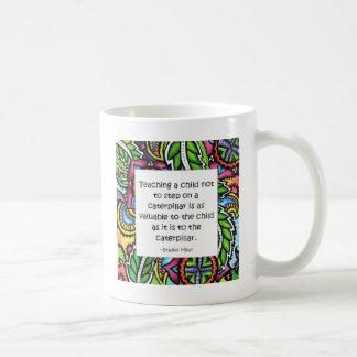 Mitleid wird unterrichtet tasse
