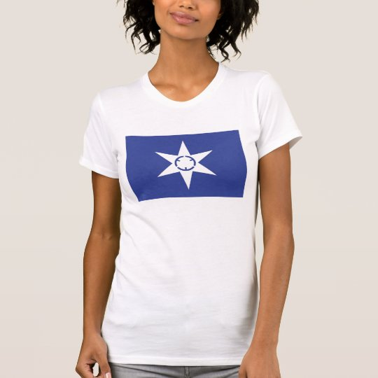 Mito-Stadtflagge Präfektur Ibaraki-Japan-Symbol T-Shirt