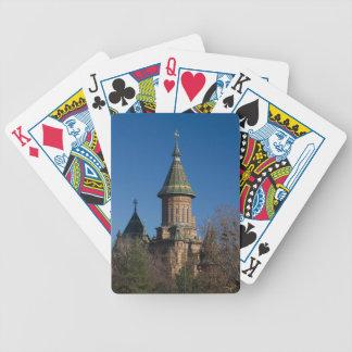 Mitropolitan Kathedrale, Timisoara, Rumänien Bicycle Spielkarten