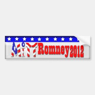 Mitt Romney 2012 Auto Aufkleber