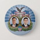 Mitt Romney Paul Ryan Jugate Runder Button 7,6 Cm