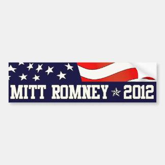 Mitt Romney-Präsident im Jahre 2012 Autoaufkleber