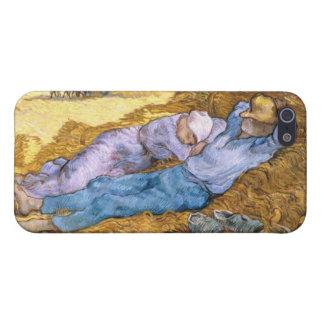 Mittag Vincent van Goghs |, der Siesta, nach Hirse iPhone 5 Cover