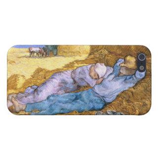 Mittag Vincent van Goghs |, der Siesta, nach Hirse iPhone 5 Etui