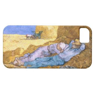 Mittag Vincent van Goghs |, der Siesta, nach Hirse iPhone 5 Schutzhülle