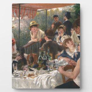 Mittagessen des Bootfahrt-Party - Renoir Fotoplatten