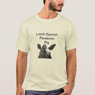 MittagessenSpecial: Pandemisches Schwein T-Shirt