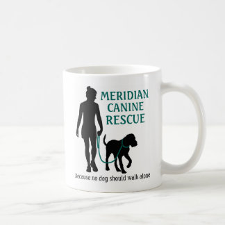 Mittägige Hunde- Rettungslogo-Kaffee-Tasse Kaffeetasse