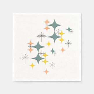Mitte des Jahrhunderts moderne Eames Papierserviette