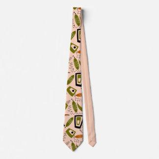 Mitte- des Jahrhundertsmoderne abstrakte Krawatte
