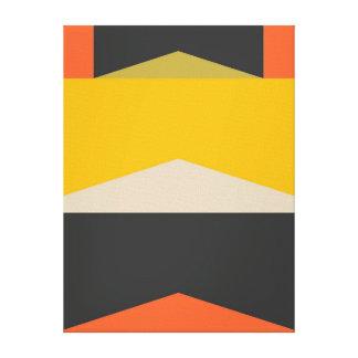 Mitte- des Jahrhundertsmoderne abstrakte Leinwanddruck