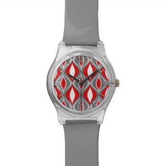 Mitte- des Jahrhundertsmoderne Diamanten, Armbanduhr