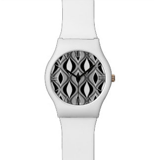 Mitte- des Jahrhundertsmoderne Diamanten, Uhr