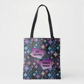 Mitte- des Jahrhundertsmoderne Frauenfünfziger Tasche