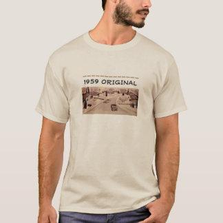 Mitte- des Jahrhundertsmoderner authentischer T-Shirt