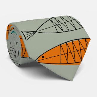 Mitte- des Jahrhundertsmodernes Personalisierte Krawatten