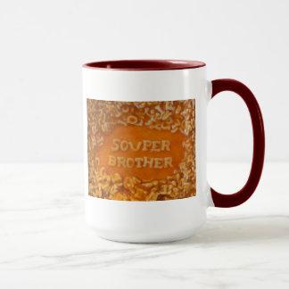 Mitteilung in meiner Suppe: Bruder-Tasse Tasse