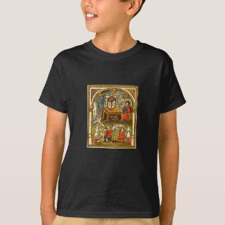 Mittelalterliche Alchimie-Werkstatt T-Shirt