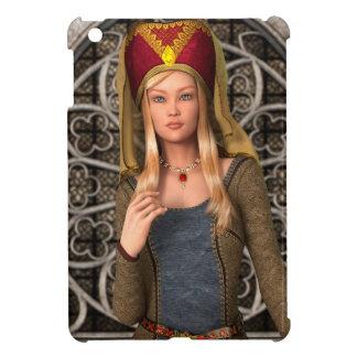 Mittelalterliche Dame iPad Mini Hülle