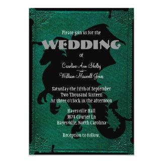 Mittelalterliche Drache-Klinge-Vintage 12,7 X 17,8 Cm Einladungskarte