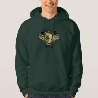 Mittelalterlicher SchildHoodie Hoodie