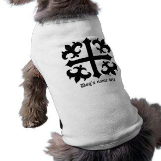 Mittelalterliches königliches symbolisches Kreuz Shirt
