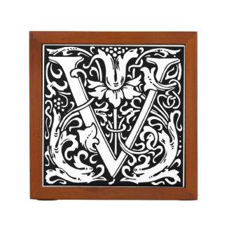 Mittelalterliches Monogramm-Vintage Initiale des
