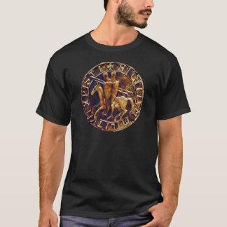 Mittelalterliches Siegel der Ritter Templar T-Shirt