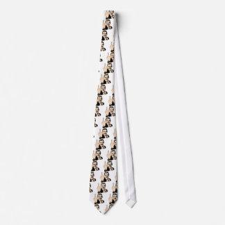 Mittelfinger-Gruß Retro Krawatte