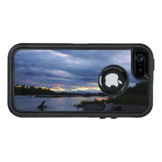 Mitternachtsalaska-Sonnenuntergang OtterBox iPhone 5/5s/SE Hülle