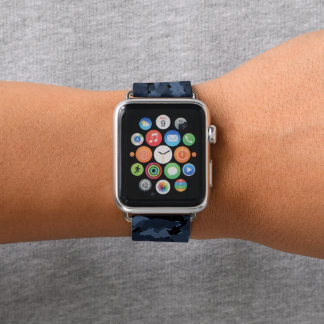 MitternachtsCamouflage Apple Watch Armband