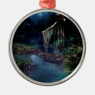 MITTERNACHTSmond-BAD Silbernes Ornament