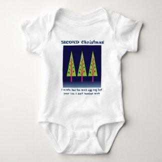 Mitternachtswald auf Weihnachtsabend Baby Strampler