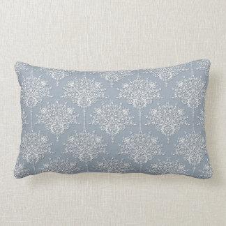 graue damaste auf wei lendenkissen graue damaste auf wei dekokissen. Black Bedroom Furniture Sets. Home Design Ideas