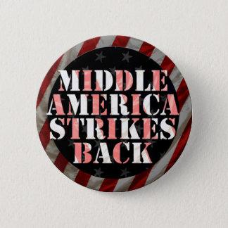 Mittleres Amerika schlägt zurück! Knopf Runder Button 5,7 Cm