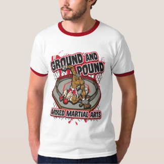 MIXED MARTIAL ARTS Boden und Pfund T-Shirt